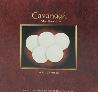 CAVANAGH COMMUNION HOSTS 1 3/8 White