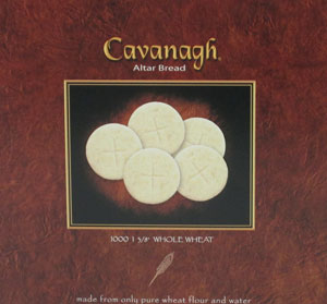 CAVANAGH COMMUNION HOSTS 1 3/8 Whole Wheat