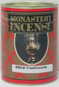 MONASTERY INCENSE PURE FRANKINCENSE