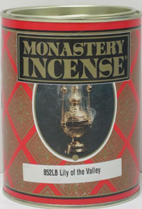 MONASTERY INCENSE LILY OF THE VALLEY INCENSE