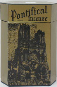 W & B PONTIFICAL INCENSE.