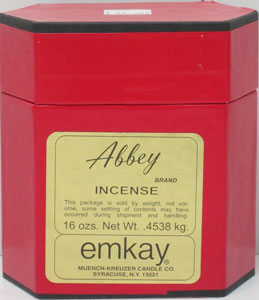 ABBEY INCENSE.