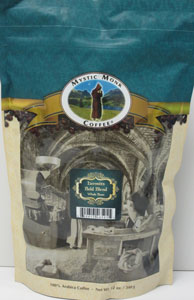 MYSTIC MONK COFFEE ~  HERMITS BOLD BLEND WHOLE BEAN