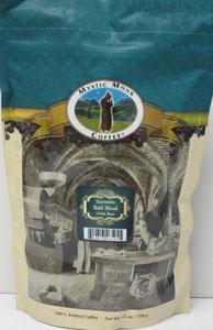 MYSTIC MONK COFFEE ~  HERMITS BOLD BLEND WHOLE BEAN