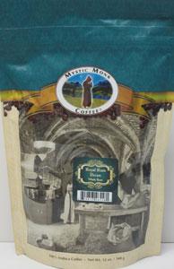 MYSTIC MONK COFFEE~ROYAL RUM PECAN WHOLE BEAN