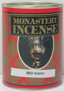MONASTERY INCENSE JERUSALEM INCENSE