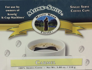 MYSTIC MONK COFFEE-CARMEL MONK SHOTS