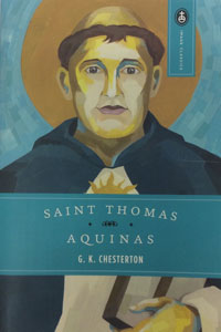 ST. THOMAS AQUINAS, THE DUMB OX by G. K. Chesterton.