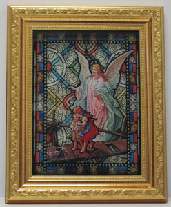 GUARDIAN ANGEL FRAMED PICTURE No. SG862-350