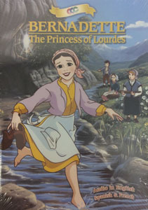BERNADETTE PRINCESS OF LOURDES. DVD