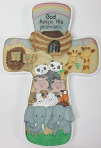 NOAH'S ARK WALL CROSS No. 72132