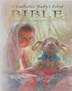 A CATHOIC BABY'S FIRST BIBLE No. RG13004