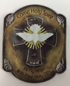 HOLY SPIRIT PLAQUE No. 65953