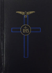 BLESSED TRINITY MISSAL AND PRAYER BOOK (BLACK)  No. 2611