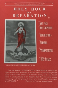 HOLY HOUR OF REPARATION.
