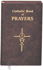 CATHOLIC BOOK OF PRAYERS # 910/09 Vinyl cover.