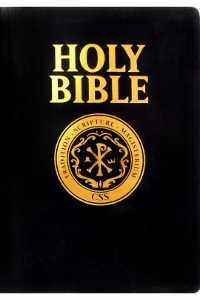 CATHOLIC SCRIPTURE STUDY INTERNATIONAL BIBLE, Black Bonded Leather