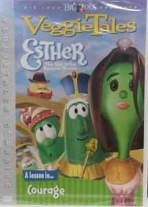 VEGGIETALES: ESTHER: THE GIRL WHO BECAME QUEEN.  DVD.