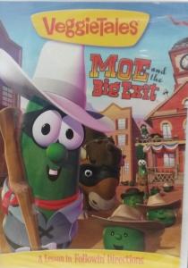 VEGGIETALES: MOE AND THE BIG EXIT. DVD