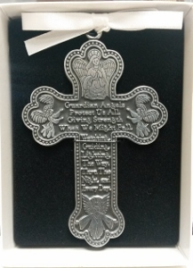 PEWTER CRIB CROSS No. CM8