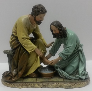 THE WASHING OF THE FEET, 6.5 INCHES 45615