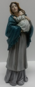 "9"" MADONNA OF THE STREET STATUE #41241"