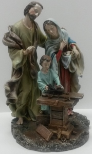 HOLY FAMILY STATUE #40732