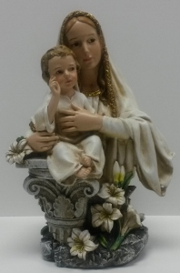 BLESSED MOTHER AND CHILD BUST #46698