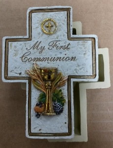 FIRST COMMUNION ROSARY BOX No. 63107