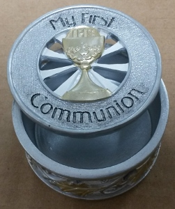 FIRST COMMUNION ROSARY BOX No. 40947