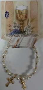 FIRST COMMUNION BRACELET No. 48-3032