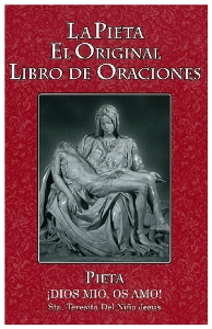 THE PIETA PRAYERBOOK, Spanish. LARGE PRINT