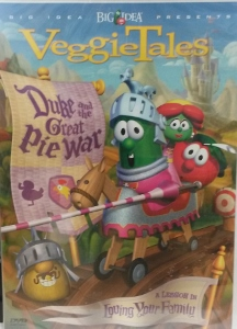 VEGGIETALES: DUKE AND THE GREAT PIE WAR.  DVD.
