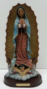 OUR LADY OF GUADALUPE, 11.5 INCHES