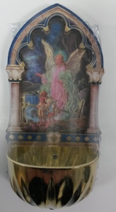GUARDIAN ANGEL HOLY WATER FONT  No. 1928-350